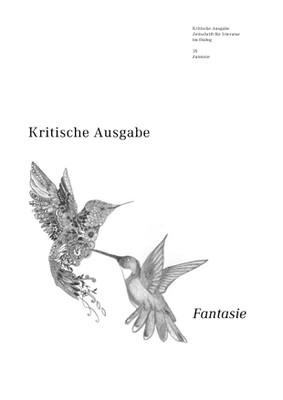 Kritische Ausgabe: »Fantasie« (Cover)