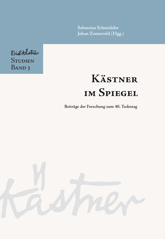 Erich Kästner-Studien, Bd. 3 (Cover)