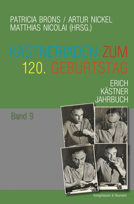Erich Kästner Jahrbuch, Bd. 9 (Cover)